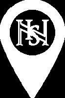 Icona localizzatore bianco